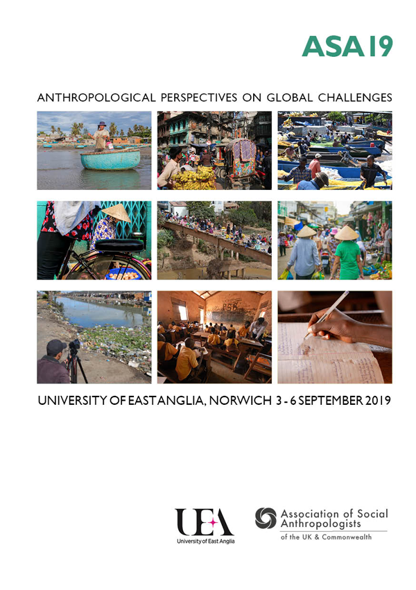 UNIVERSITY OF EAST ANGLIA, NORWICH 3 - 6 SEPTEMBER 2019